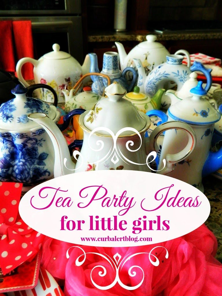 Tea Party Game Ideas for Little Girls via Curb Alert! Blog https://www.curbalertblog.com/2014/03/tea-party-ideas-for-little-girls.html