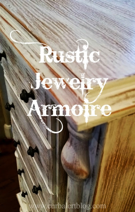 White Rustic Jewelry Armoire And Trades Of Hope Jewelry Giveaway