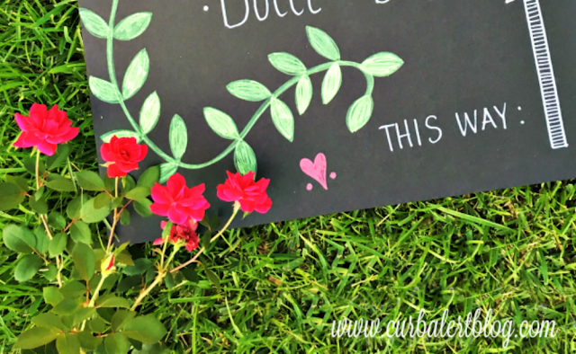Welcome to the I Do BBQ Outdoor Games Wedding Sign